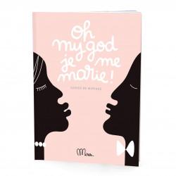 Cahier de Mariage, Oh my god, je me marie ! Grand Minus -Couverture