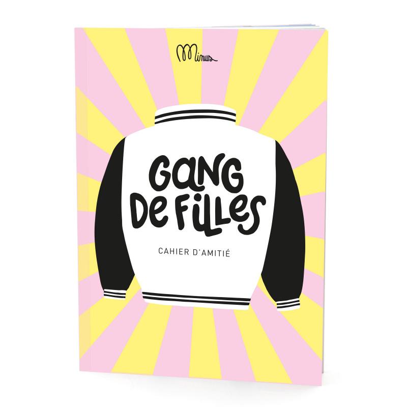 Cahier d'amitié, Gang de filles, Grand Minus - Couverture