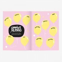 Cahier d'amitié, Gang de filles, Grand Minus - Intérieur 2
