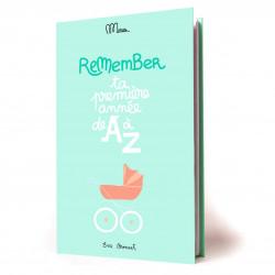 Livre de naissance, Ta première année de A à Z, Grand Minus - Couverture