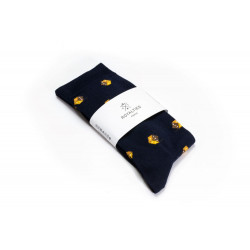 Chaussettes Homme Chance moutarde - Royalties