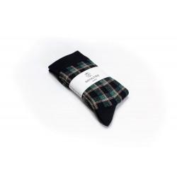 Chaussettes femme Kim Navy - Royalties - Vue 1