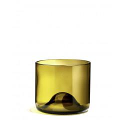 Pack de verres bruns/jaunes - Rires - Q de bouteilles