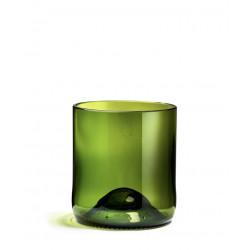"""Pack de verres verts """"débattre"""" - Q de bouteilles"""
