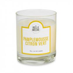 Bougie senteur pamplemousse citron vert - La Belle Meche