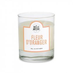 Bougie senteur fleur d'oranger - La Belle Meche