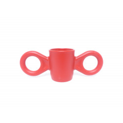 "Mug Dumbo rouge ""Richard Hutten"" - face"