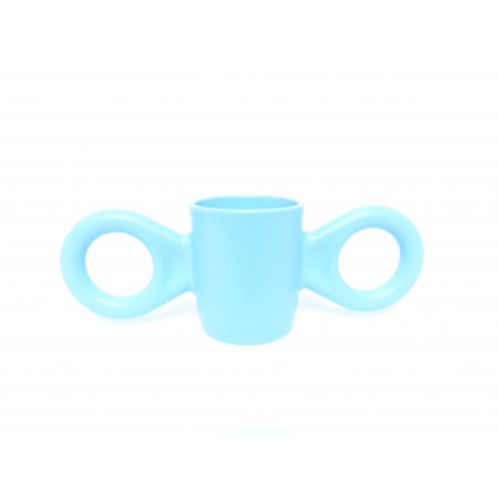 """Mug Dumbo bleu """"Richard Hutten""""  -face"""