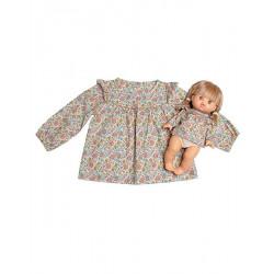 """Duo blouse """"Marina"""" fleurs - Minikane - Par Monts et Par Vaux"""