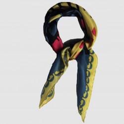 Mogador jaune mini foulard - Les belles vagabondes - Par Monts et Par Vaux