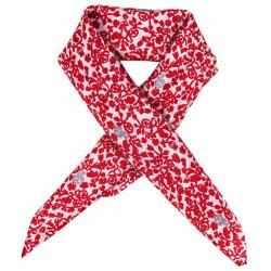 Lobelia rouge mini foulard - Les belles vagabondes - Par Monts et Par Vaux