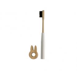 Brosse à dents bambou blanche - Cookut - Par Monts et Par Vaux