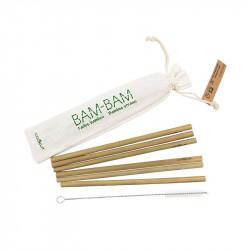 Kit pailles en bambou et écouvillon de lavage - Cookut - Par Monts et Par Vaux