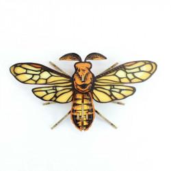 Papillon de nuit en carton noctambulus - Agent Paper - dessus