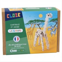 Girafe en bois à construire - Cloze - Par Monts et Par Vaux - packaging