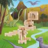 T-Rex en bois à construire - Cloze - Par Monts et Par Vaux - monté 2
