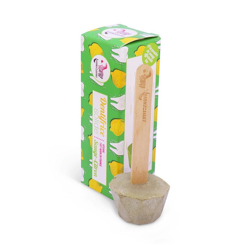 Dentifrice solide sauge citron Lamazuna - PAR MONTS ET PAR VAUX