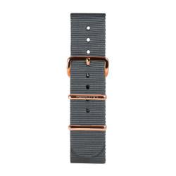 Bracelet gris/ or rose - Briston - Par Monts et Par Vaux