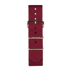Bracelet bordeaux/ or rose - Briston - Par Monts et Par Vaux