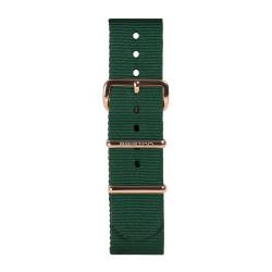 Bracelet vert anglais/ or rose