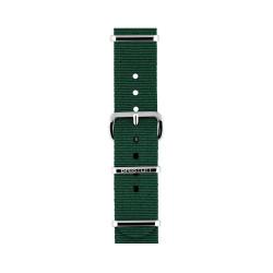 Bracelet vert anglais/ acier - Briston - Par Monts et Par Vaux