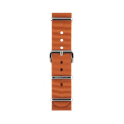 Bracelet marron/ acier