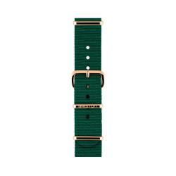 Bracelet vert anglais/ or rose - Briston - Par Monts et Par Vaux