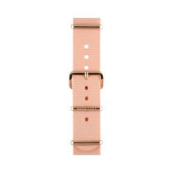 Bracelet rose poudré/ or rose - Briston - Par Monts et Par Vaux