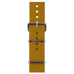 Bracelet moutarde/ acier - Briston - Par Monts et Par Vaux