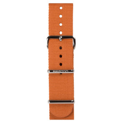 Bracelet marron foncé/ acier - Briston - Par Monts et Par Vaux