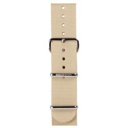 Bracelet kaki/ acier - Briston - Par Monts et Par Vaux