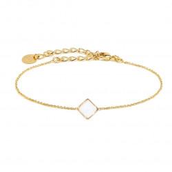 Bracelet jade blanc - BDM - Par Monts et Par Vaux