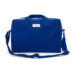 """Sauval City Bag """"Bleu azur"""" face - Rive Droite Paris - Par Monts et Par Vaux"""