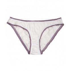 Culotte blanc/lilas