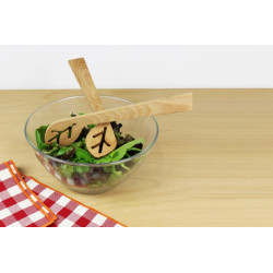 """Couverts à salade """"du bout des feuilles"""" - Reine Mère - Par Monts et Par Vaux - situation"""