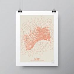 Affiche Nice - Prao Studio - Par Monts et Par Vaux
