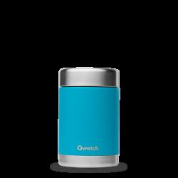 Lunchbox isotherme Turquoise 340ml Qwetch - Par Monts et Par Vaux - face