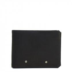 Portefeuille type italien noir - Les Ateliers Fourés
