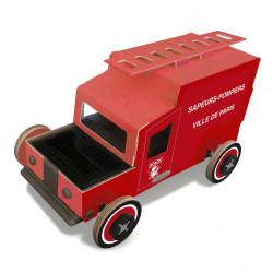 """Autogami """"Camion de pompiers"""" - Litogami - Par Monts et Par Vaux - face"""