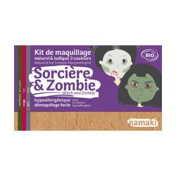 kit 3 couleurs sorcières & zombies - Namaki - Par Monts et Par Vaux