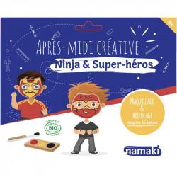 Pochettes créatives Ninja et Super-héros - Namaki - Par Monts et Par Vaux