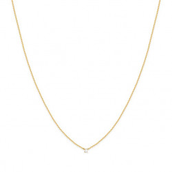 Collier court secret cristal BDM