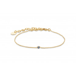 Bracelet secret silver night, bracelet ajustable BDM studio - PAR MONTS ET PAR VAUX