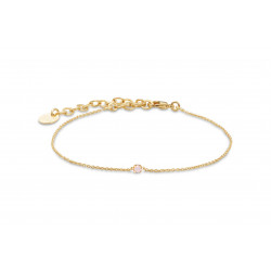 Bracelet secret rose water opal, bracelet ajustable, BDM studio - PAR MONTS ET PAR VAUX