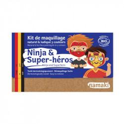 Kit 3 couleurs ninja & super héros - Par Monts et Par Vaux - Namaki