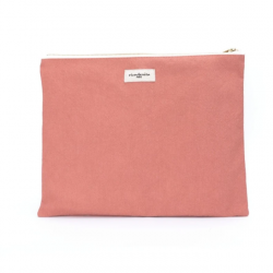 Bouteille pastel rose - VUE1