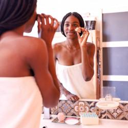 Nettoyant visage peau séche Lamazuna - PAR MONTS ET PAR VAUX - utilisation