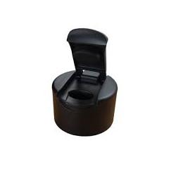 Portefeuille type italien noir - VUE2