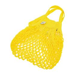 Petit filet à provision jaune solarium, Filt