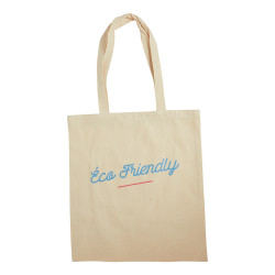 "Tote bag ""éco friendly"" - face"